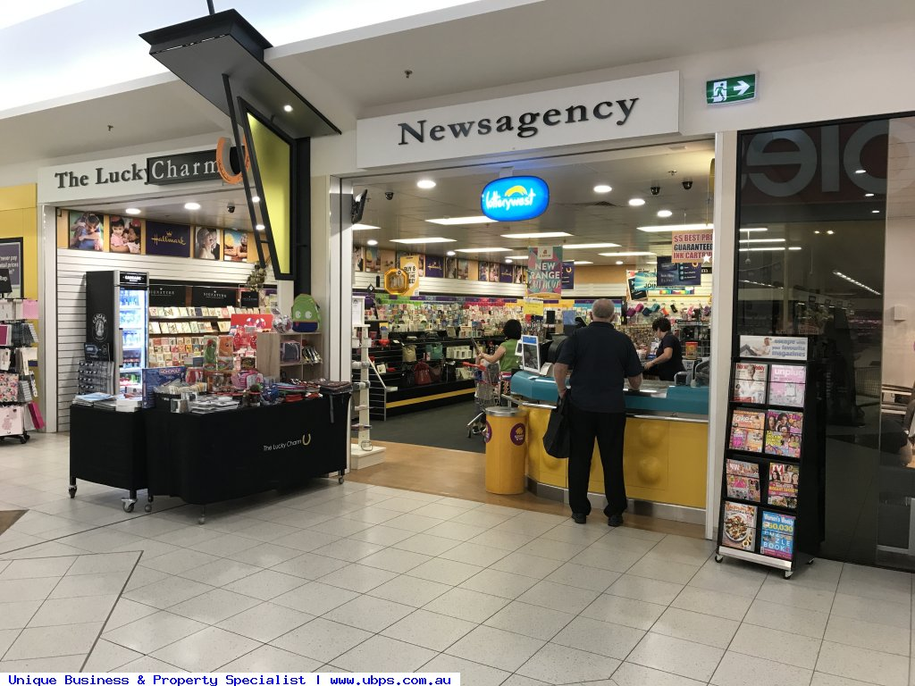 Great newsagent with lotteries
